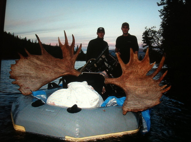Moose hunting in Alaska with Sky Smith
