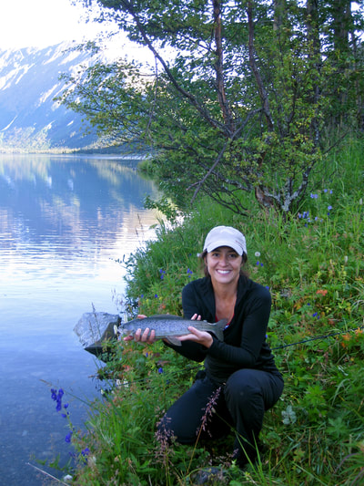 Fish for Grayling in Alaska