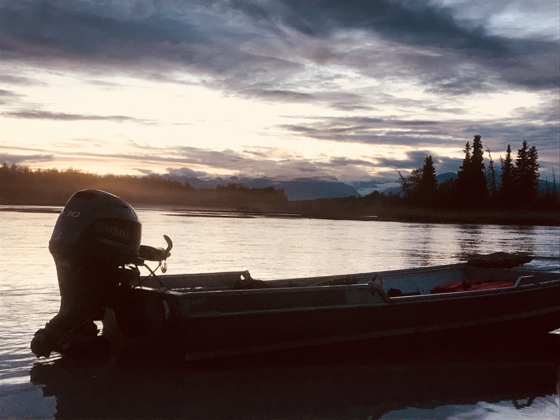 hunting with boats in Alaska